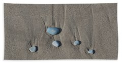 Imprints Of Waves II Bath Towel