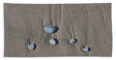 Imprints Of Waves II Bath Towel