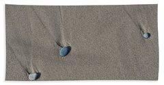 Imprints Of Waves Bath Towel