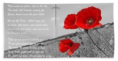 In Flanders Fields Hand Towel