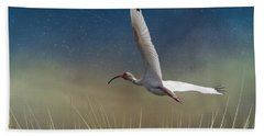 In Flight 1 Hand Towel by Phil Mancuso