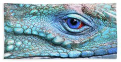 In His Eye Hand Towel by Iryna Goodall