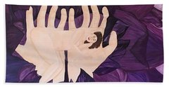 In Loving Hands Bath Towel by Cheryl Bailey