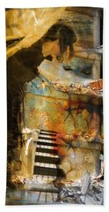 Crumble-metamorphosis Begins Hand Towel