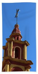 In Mexico Bell Tower Hand Towel