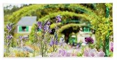 In Monet's Garden Hand Towel