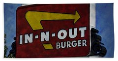 In-n-out Hand Towel