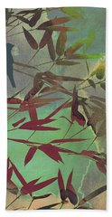 In The Bamboo Forest Hand Towel by AugenWerk Susann Serfezi