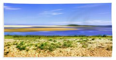 In The Distance Of Lake Wollumboola Bath Towel