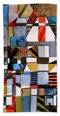 In The Dog House Bath Towel by Mindy Newman