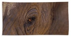 In The Eye Of The Elephant Hand Towel