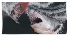 In The Face Of Fear Bath Towel