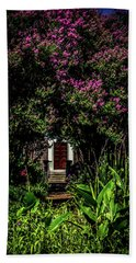 In The Garden - The Hermitage Hand Towel