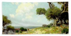 In The Hills Of Southwest Texas 1912 Bath Towel
