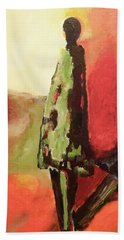 In The Shadows Hand Towel by Gallery Messina