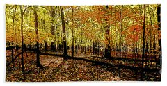 In The The Woods, Fall  Bath Towel