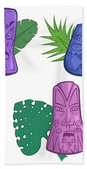 In The Tiki Room Hand Towel by Whitney Morton
