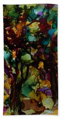 In The Woods Hand Towel by Alika Kumar