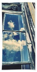 In Through The Clouds Hand Towel