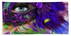 Hand Towel featuring the photograph Incognito by LemonArt Photography