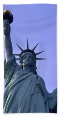 Hand Towel featuring the photograph Independence Day Usa by Travel Pics