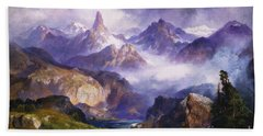 Index Peak Yellowstone National Park Bath Towel