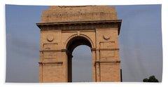 India Gate - New Delhi - India Bath Towel