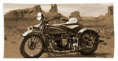 Indian 4 Sidecar Hand Towel