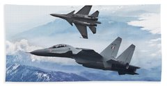 Indian Air Force Fighters Hand Towel