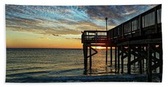 Indian Rocks Sunset Bath Towel