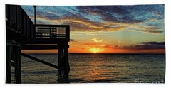 Indian Rocks Sunset Two Hand Towel by Paul Mashburn