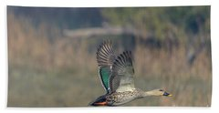 Indian Spot-billed Duck 03 Hand Towel