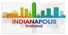 Indianapolis In Hand Towel