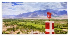 Bath Towel featuring the photograph Indus Valley by Alexey Stiop