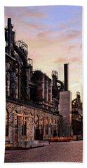 Industrial Landmark Hand Towel