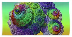 Infinite Inspiration Spiral Hand Towel