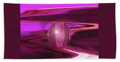 Infinity And Beyond - Abstract Iris Photography Hand Towel by Brooks Garten Hauschild