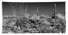 Infrared Sonora Desert Arizona Hand Towel