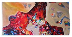 Inner Dream Bath Towel by Sanjay Punekar