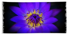 Hand Towel featuring the photograph Inner Glow by Keith Hawley