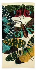 Insects, Plate-16 Hand Towel