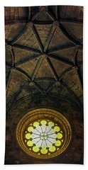 Hand Towel featuring the photograph Inside Jeronimos by Carlos Caetano