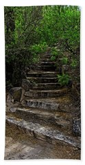 Bath Towel featuring the photograph Instep With Nature V53 by Mark Myhaver