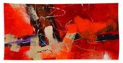 Intensity - Art By Elise Palmigiani Bath Towel by Elise Palmigiani