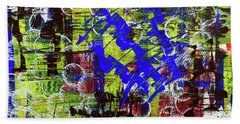 Intensity Hand Towel by Cathy Beharriell