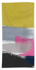 Jubilee Mix 2- Abstract Art By Linda Woods Hand Towel