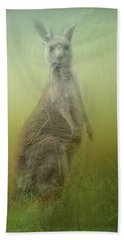 Interrupted Meal Hand Towel by Wallaroo Images