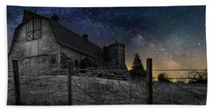 Bath Towel featuring the photograph Interstellar Farm by Bill Wakeley