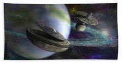 Interstellar Bath Towel