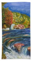 Into Slide Rock Bath Towel